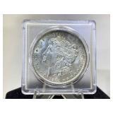 1904-O Morgan Dollar in holder