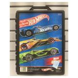 Hot wheels car carry case with cars.