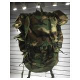 Military Camouflage XL backpack.