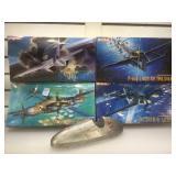 4 DML Model planes. 1:72 scale. Some sealed NIB.