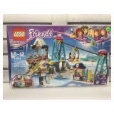Lego friends 41324. Snow resort ski lift.