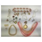 Vintage Costume jewelry.