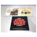 Vintage calendars. 1979 star wars, 1979 Lord of