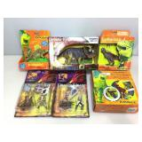 Dinosaur, Dragonheart figures and more.