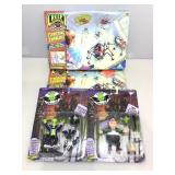 Creepy Crawlers make and play sets with little