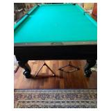 Snooker Pool Table 9ft buyer must p/u from estate.