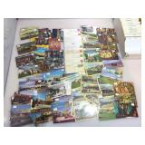 Box of vintage postcards. Last Frontier, Mint,