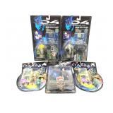 Stargate Figures and independence day Micro
