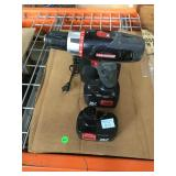 Craftsman cordless screw gun with charger extra