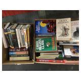 Mixed books 2 box lot