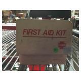 Vintage Hart first aid kit in metal case