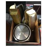 Automotive parts 4 Ford hubcaps 5 mixed head