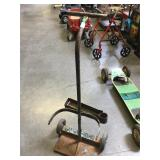 Welding cart, see pictures for condition