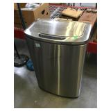 Touch free trash automatic stainless steel trash