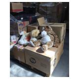 Pallet lot of assorted Christmas decorations and
