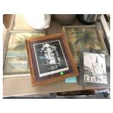 Framed small prints and more