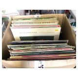 Box of Vinyl Record LP