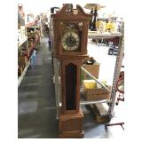 Small Grandfather style clock approx 6ft missing