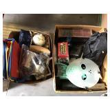 Jason mask & assorted items
