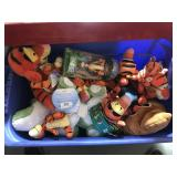 Assorted Tigger Toys and Plushes - most NWT