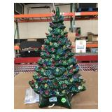Ceramic light up Christmas Tree - approx. 20 in
