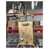 Antique Dazey Metal Mechanical Churn - pat. 1917