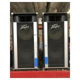 Pr Peavey 1210 TS PA Column Speakers - 12 in