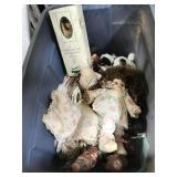 Porcelain dolls and decorative items