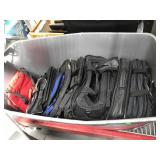 Assorted laptop bags and more