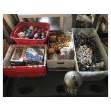 Pallet of Holiday Decorations