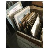 Pallet of Hollywood Screen Used Framed Pictures -