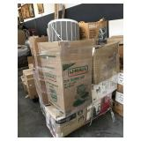 Unsorted Pallet of Assorted Household Items and