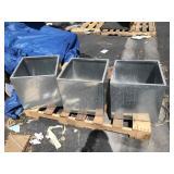 Metal 12x12x12 Planter Boxes