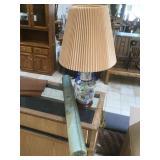 Lamp and lantern.