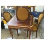 Card Table and 4 chairs.