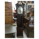 Tempus Fugit grandfather clock w/weights and