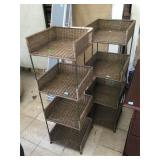 Storage rack shelves, approx 15x1548 inches