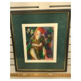 Signed and numbered Linda Le Kinff