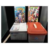 Lot of assorted comics and duplicates