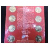 2008 Presidential $1 Coin Uncirculated Set