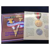 Commemorative Coin & Victory Medal Set