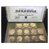 Sterling Spanish Coin Set