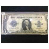 1923 $1 SILVER CERTIFICATE BLANKET NOTE