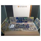 11 license plates