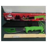 Vampire Knife w/nylon Sheath by Frost Cutlery