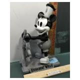 Disney LE bobble head of Steamboat Willie w/some
