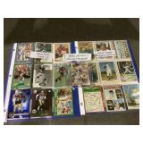 Misc sports card lot with auto