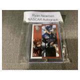 Ryan newman auto card