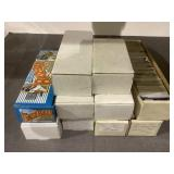 Large lot of mixed sports cards