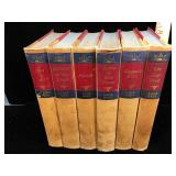 Six hb Zane Grey books from the 50